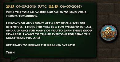 Kracken Prepare for War 2