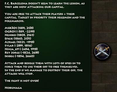 New Hegemon Issues Orders 2
