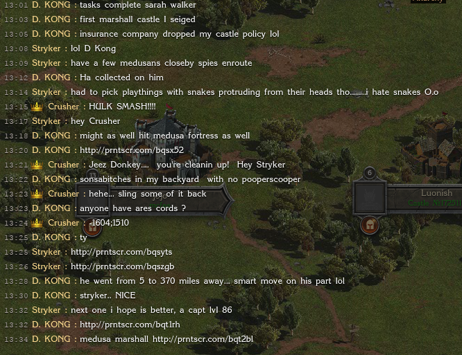 Anarchy Chat Attacking Medusa