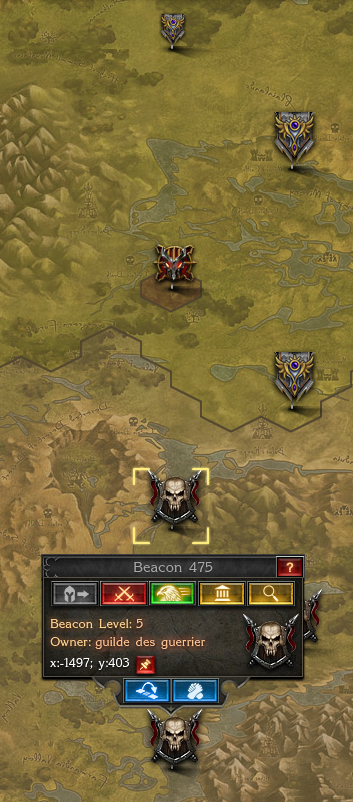 New Beacons West Guilde Des Guerrier Zirkel Dominus