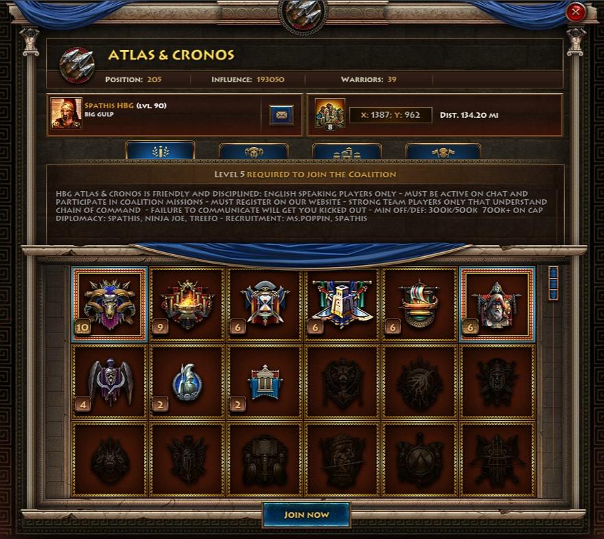 Sparta Atlas Cronos