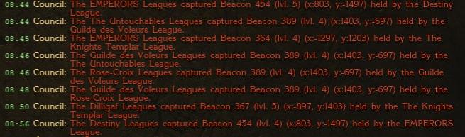 Beacon Mass Chaos