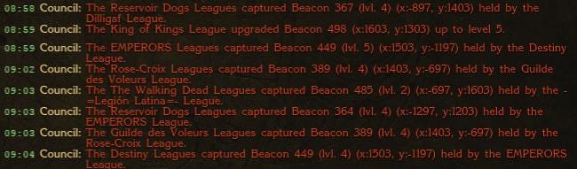 Beacon Mass Chaos 2